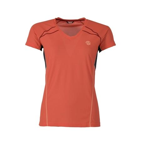 Short-sleeved technical T-shirt.